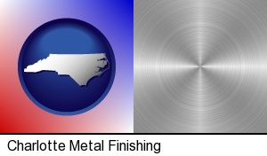 a smoothly-finished metal surface in Charlotte, NC